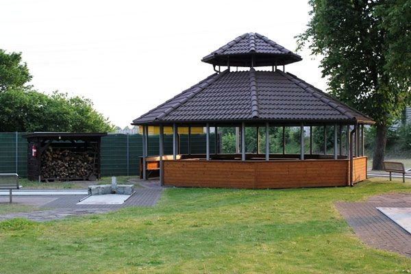 Unser Grillpavillon